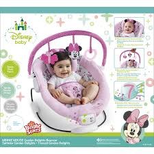 Pink Swinging Baby Chair Disney Baby Minnie Mouse Delight Bouncy Pink Basket Seat