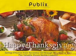publix yellow advantage buy flyer happy thanksgiving 11 12 12 2