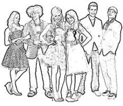 High School Musical Coloring Pages To Print High School Musical Coloring Pages For High