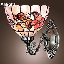 Tiffany Style Wall Sconces Online Get Cheap Tiffany Style Wall Lamps Aliexpress Com