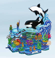 seaworld debuts a sea of surprises float in the 87th annual