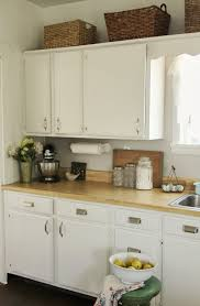 Off The Shelf Kitchen Cabinets Kitchen Cabinets Painted Before And After Pretty Petals