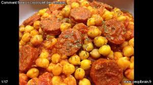 cuisiner un cassoulet épinglé par peoplbrain sur cuisine plats espagnols le