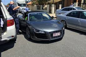 audi gold coast luxury car seized by queensland from a gold coast property