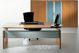 Office Desk With Glass Top Daily Update Interior House Design Modern Office Desk By Uffix