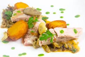 cote cuisine julie andrieu recettes côte de veau cuite basse température sauce forestière et pommes de