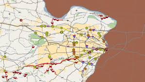 Illinois Road Construction Map by Interactive Map Shows Missouri Roads Closed For Floods Fox2now Com