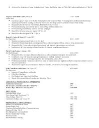 Hostess Resume Example by Ron Matlock Resume