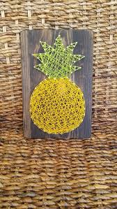island themed home decor give the gift of hawaiian home décor with this pineapple string art