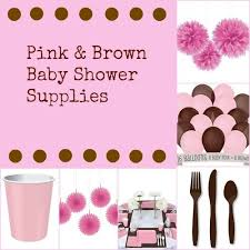 pink and brown baby shower ideas my practical baby shower guide