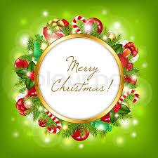 merry christmas vector illustration stock vector colourbox