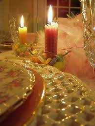 Valentines Day Tablescapes by Romantic Valentine U0027s Day Dinner