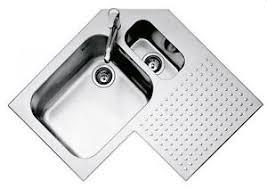 lavello angolare barazza lavello angolare da incasso 83x83 1is9090d 2 vasche