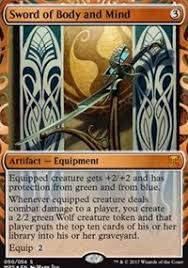 sword of and mind masterpiece series kaladesh inventions