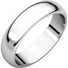 Platinum Comfort Fit Wedding Band 5mm Comfort Fit Low Dome Wedding Band Iannelli Diamonds Inc