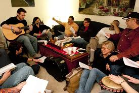 on being home church fellowship in the living room