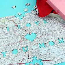 washington dc map puzzle the i you personalized map puzzle hammacher schlemmer
