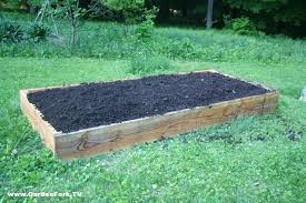 Building Raised Beds How To Build A Raised Bed For Vegetables Or Flowers Gf Tv