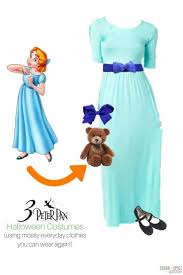 Wendy Halloween Costume Peter Pan Disney Halloween Costumes Everyday Clothes Sugar Spice