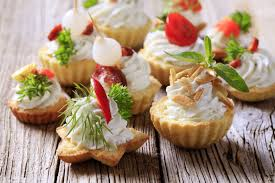 hire a chef canapes party at home with hire a chef