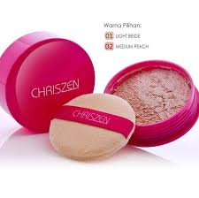 Bedak Skin Malaysia second chriszen pearl powder