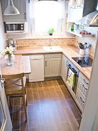 Cottage Kitchen Cupboards - cocina cocinas pequeñas pinterest faux brick backsplash