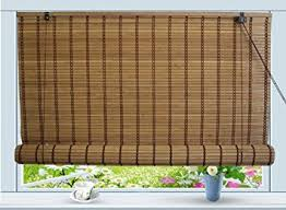 Bamboo Curtains For Windows Bamboo Roll Up Window Blind Sun Shade W30 X H72