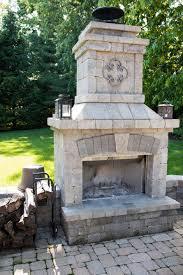 outdoor fireplaces in kentucky by american deck u0026 sunroom