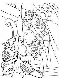 disney baby rapunzel coloring pages drawings disney