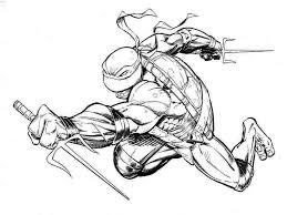 ninjas coloring pages teenage mutant ninja turtle coloring pages