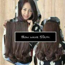 harga hair clip curly grosir hairclip import murah big layer 40 cm