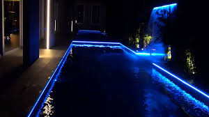 solar swimming pool lights pool lighting led strip light youtube