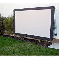 Backyard Projector Screen by Outdoor Movie Screens