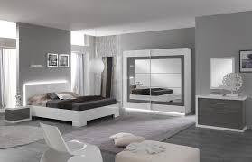 meuble chambre blanc laqué chambre adulte design laquée blanche et grise hanove ii chambre