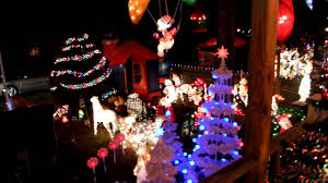 Christmas House Light Show by Holiday Light Show On Filbert Street In Pemberton New Jersey House