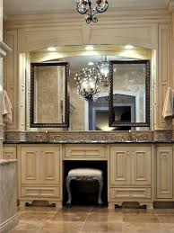 Bathroom Vanity With Seating Area by An Elegant Victorian Bath Vanity Features Beautiful Carved