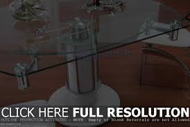 20 ways to glass extendable dining table