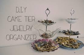 d i y cake tier jewelry organizer youtube