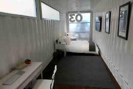 syfy channel opens pop up hotel at sxsw container cafe ships
