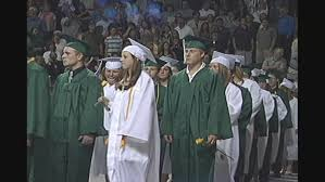 high school cap and gown bonny eagle changes cap and gown color for students wgme