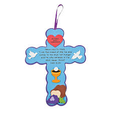 first communion cross sign craft kit craft kits communion and craft