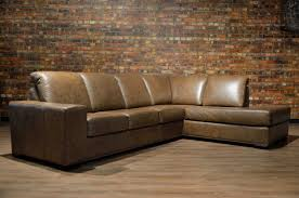 furniture leather sectiona distressed leather sectional