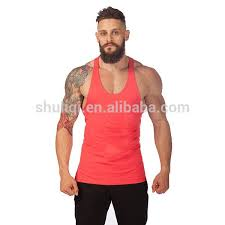 aliexpress buy 2016 new european men 39 s jewelry fitness stringer tank with coral pink golds singlet wholesale