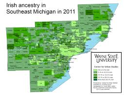 Map Of Southeast Michigan by A Little Bit O U0027 Irish Everywhere In Southeast Michigan Drawing