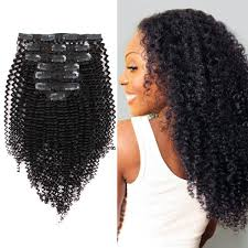 curly clip in hair extensions clip in hair extension curl amazingbeautyhairextensions