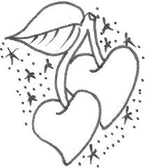 heart tattoo designs cherry tattoo designs free tattoo designs