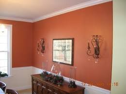 Chair Rail Ideas For Dining Room Orange Living Room With Chair Railing Paint Schemes Carameloffers