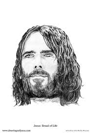 portrait drawings of jesus christ holiday shopping ideas