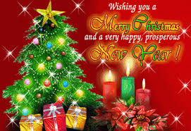 wish you happy holidays and merry merry and