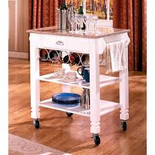white marble veneer mobile kitchen island free shipping today